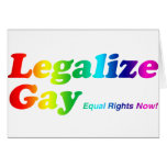 Legalize Gay Greeting Card