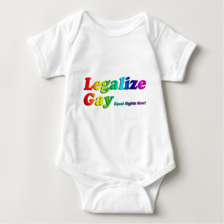 Legalize Gay Infant Creeper