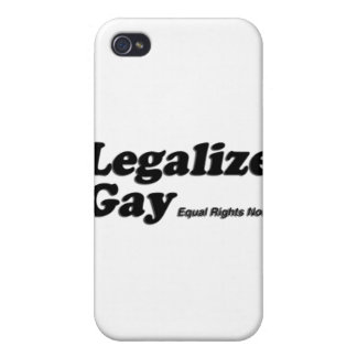 Legalize Gay iPhone 4/4S Covers