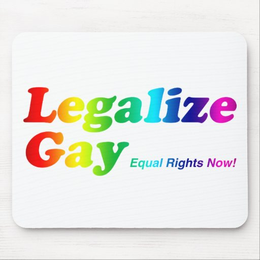 Legalize Gay Mouse Pad