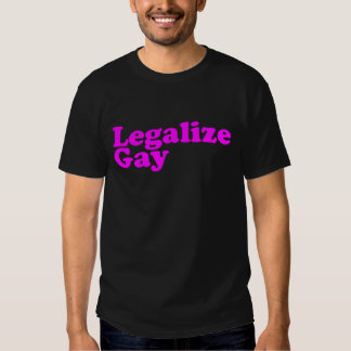 Legalize Gay pink T-Shirt