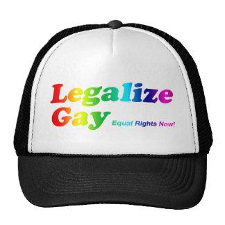 Legalize Gay Trucker Hat