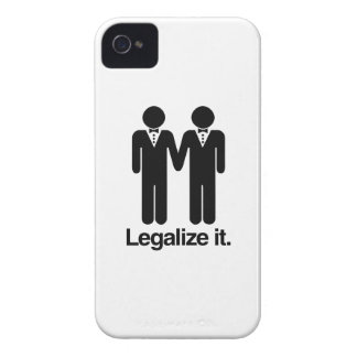 LEGALIZE GAY WEDDINGS iPhone 4 Case-Mate CASES