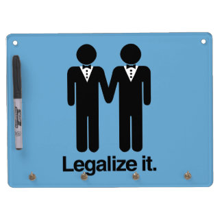 LEGALIZE GAY WEDDINGS -.png Dry Erase Whiteboards