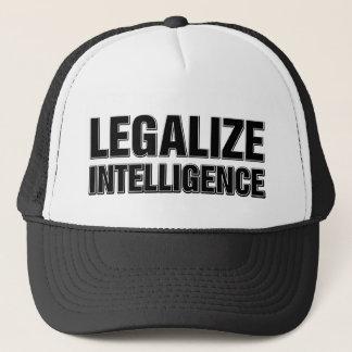 Legalize Intelligence Trucker Hat