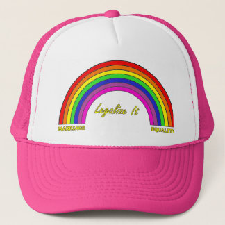 Legalize It: Marriage Equality Trucker Hat
