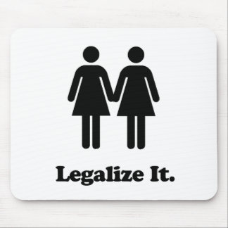 Legalize It - Women's Marriage Equality Mouse Pad