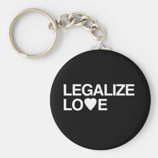 LEGALIZE LOVE KEYCHAIN