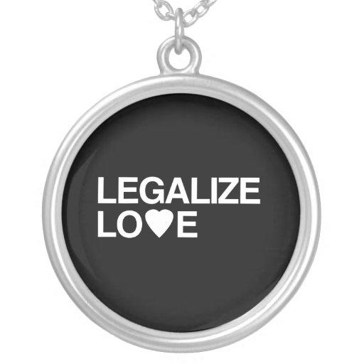 LEGALIZE LOVE NECKLACES