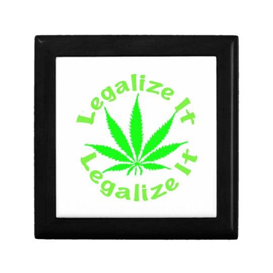 Legalize Marijuana Gift Box