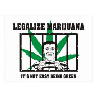 Legalize Marijuana Postcard