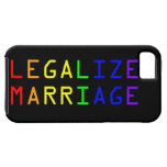 Legalize Marriage iPhone 5 Case