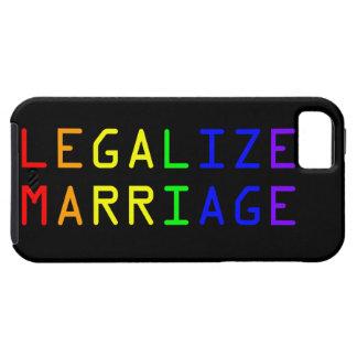 Legalize Marriage iPhone SE/5/5s Case