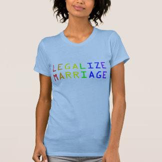 Legalize Marriage T-Shirt