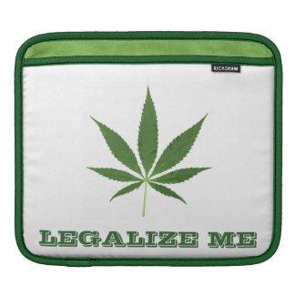 Legalize Me Marijuana iPad Sleeve