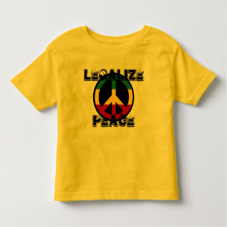 Legalize Peace Tee Shirt