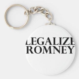 Legalize Romney Keychain