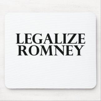 Legalize Romney Mouse Pad