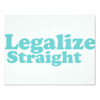 Legalize straight blue card