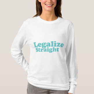 Legalize straight blue n white AA hoodie