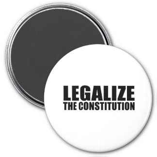 Legalize the constitution fridge magnets