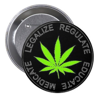 Legalize Weed Button