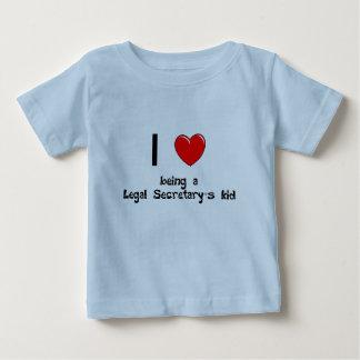 legalsec I love being an Legal Secretary's Kid T-S Infant T-shirt