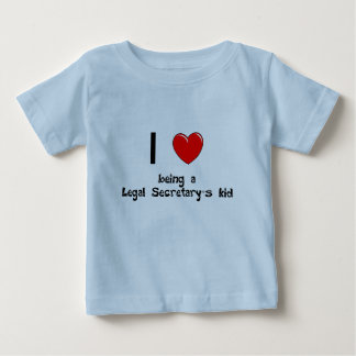 legalsec I love being an Legal Secretary's Kid T-S Infant T-shirt