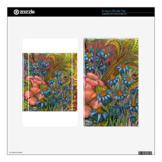 """""""LeGardin"""" Device Cases and Accessories Kindle Fire Skin"""
