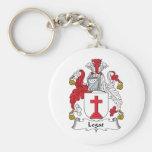 Legat Family Crest Keychains