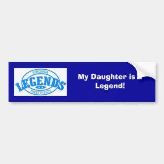 Legend Bumber Sticker Bumper Sticker