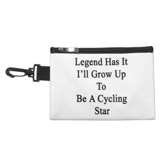 Legend Has It I'll Grow Up To Be A Cycling Star Accessory Bag