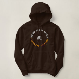 Legend Has It Sports Embroidered Hoodie