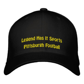 Legend Has It Sports/Pittsburgh Football Embroidered Baseball Cap