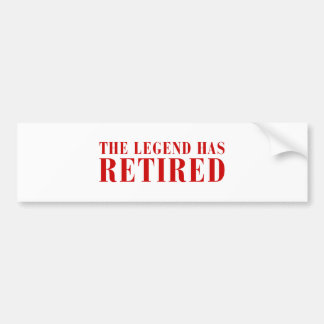 legend-has-retired-BOD-BROWN png Bumper Stickers