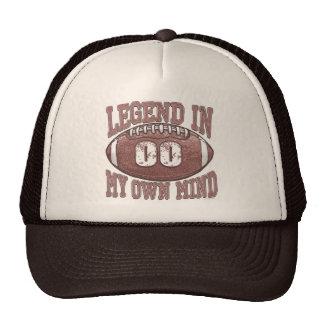 Legend in My Own Mind 00 Football Gear Trucker Hat