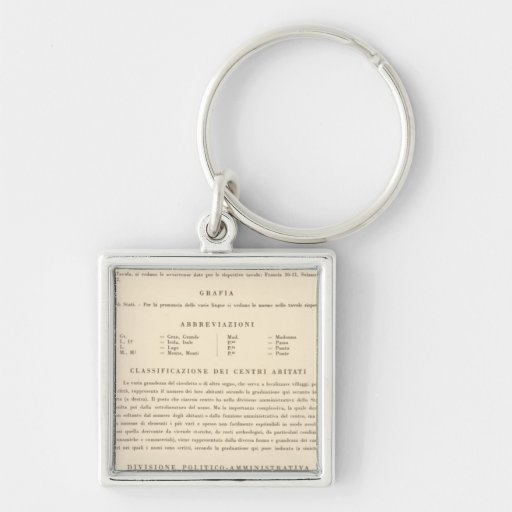 Legend Italy 2223 Key Chains