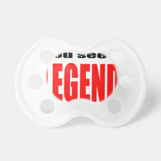 legend legendary action admiration awesome emerges BooginHead pacifier