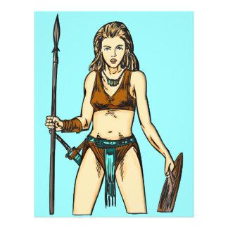 Legend Of Amazon Women Flyer Design