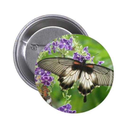 Legend of Butterflies Button