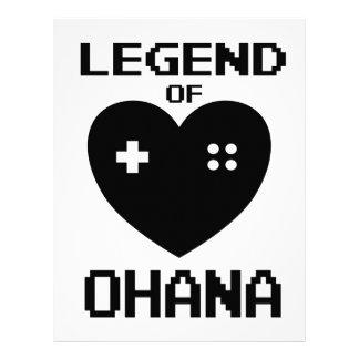 Legend of Ohana Letterhead