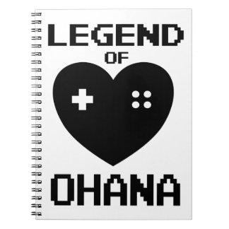 Legend of Ohana Notebook