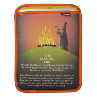 Legend of Saint Patrick and the Paschal Fire Sleeve For iPads
