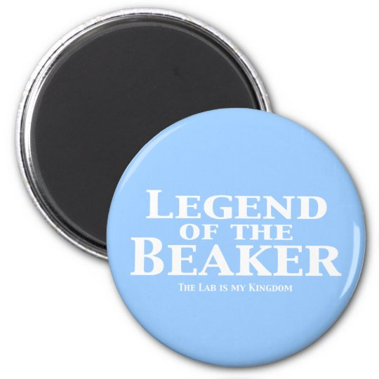 Legend of the Beaker Gifts 2 Inch Round Magnet