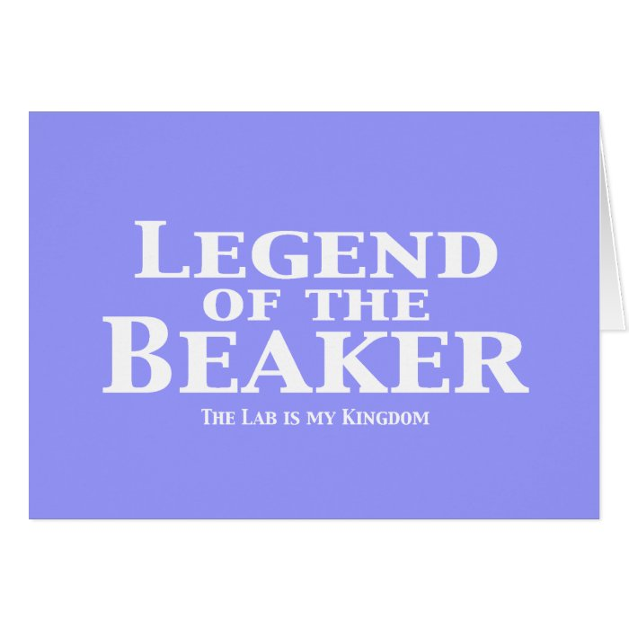 Legend of the Beaker Gifts Card