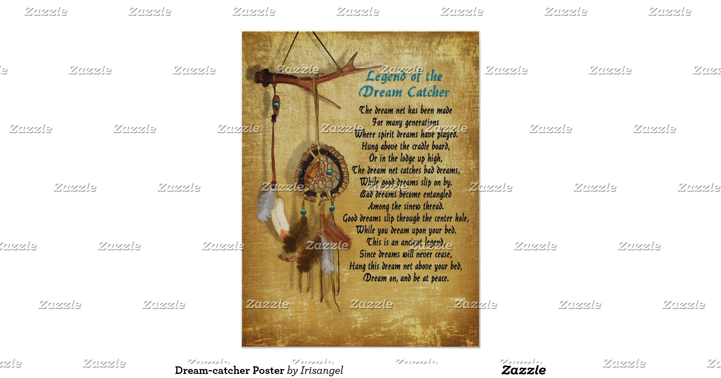 legend of the dream catcher Legend of the dream catcher according to legend, native americans wove dream catchers and hung them above their sleeping places inspired by a spider weaving its web, dream catchers were believed to offer protection from bad dreams.