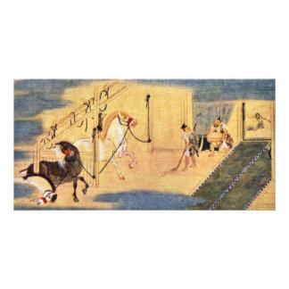 Legend Of The Founding Of The Seiko-Ji Temple Deta Photo Card