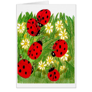 Legend of the Ladybug Greeting Card