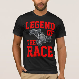 Legend Of The Race Black T-Shirt