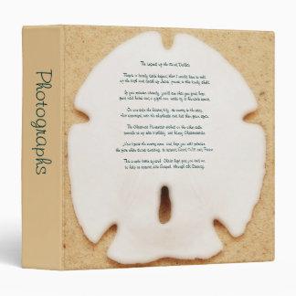 "Legend of the Sand Dollar 1.5"" Photo Album Binder"